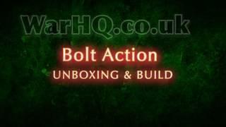 Bolt Action Unboxing Rubicon Models Stuka zu Fuss