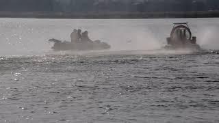 Николаевские спасатели в преддверии Крещения тренировались вытаскивать из реки тонущих людей