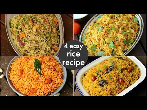 4 easy instant rice recipes – lunch box recipes & ideas