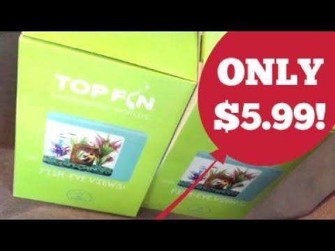Top Fin Fish-Eye 2 gallon Aquarium Unboxing/Review