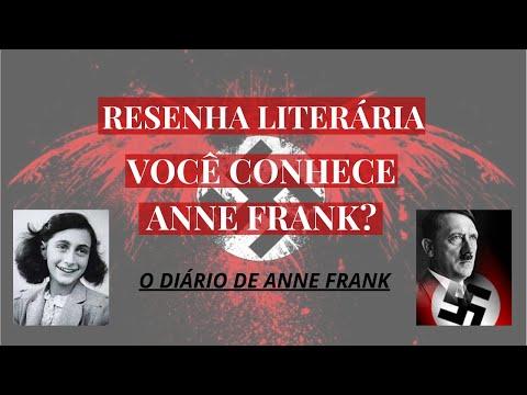RESENHA LITERÁRIA! VOCÊ CONHECE ANNE FRANK? - O DIÁRIO DE ANNE FRANK.