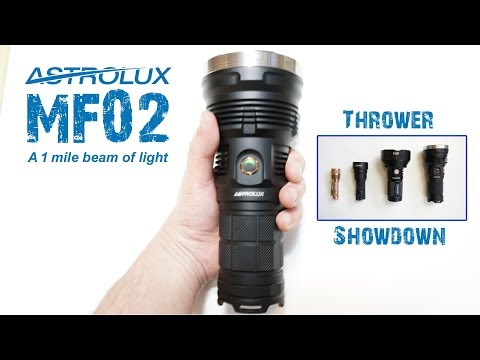 Astrolux MF02 - Best thrower for your buck!