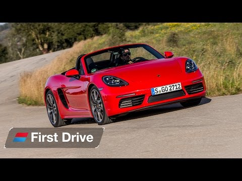 Porsche 718 Boxster first drive review: Now with a Subaru soundtrack