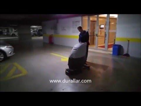 Otopark Temizlik Makinası, Otopark Yer Yıkama ve Temizlik Makinası