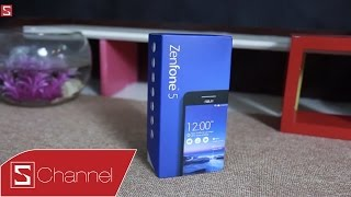 Schannel - Mở Hộp Zenfone 5 Phiên Bản Mới A501CG : Rẻ Hơn 500K, Giảm Xung Nhịp Chip