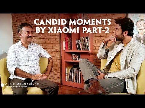 sanju candid moments by xiaomi part 2 ranbir kapoor rajkumar