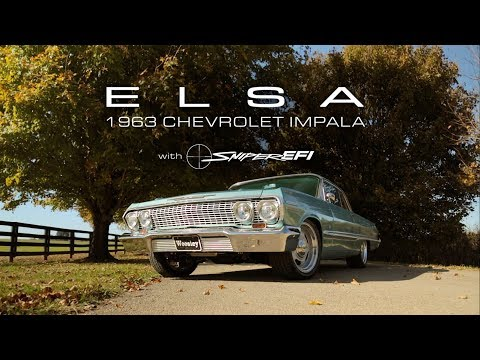 Elsa - 1963 Chevrolet Impala with Sniper EFI