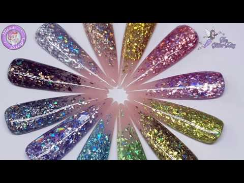Micro Shards | Prodct Videos - The Glitter Fairy