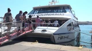 Una vuelta en las Golondrinas del puerto de Barcelona