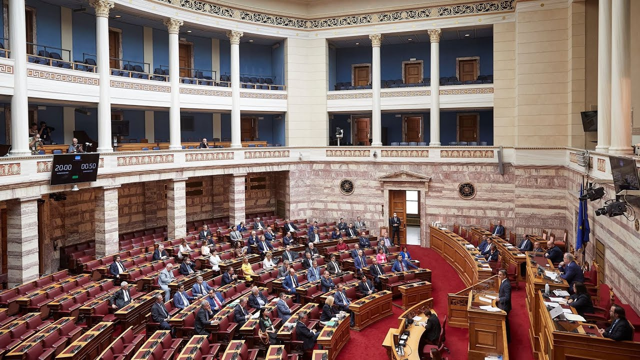 Απάντηση του Πρωθυπουργού Κυριάκου Μητσοτάκη στη Βουλή, στο πλαίσιο της «Ώρας του Πρωθυπουργού»