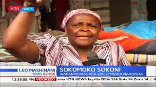Wafanyibiashara walumbana Naivasha