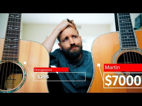 $295 vs $7000 Guitar | Cheap vs Expensive | That big a difference?