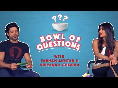 Bowl Of Questions With Priyanka Chopra & Farhan Akhtar   The Sky Is Pink   MissMalini