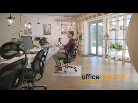 Office Marshal® Bodenschutzmatten - zuverlässiger Schutz aller Böden