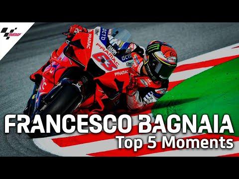MotoGPライダー「フランシスコ・バニャイア」の気になるシーントップ5から見るトップライダーの走りを集めたダイジェスト動画