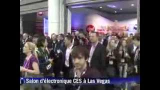 Les objets connectés, stars du salon CES à Las Vegas Video Preview Image