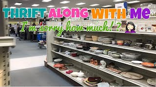 Goodwill Thrift Along With Me   You Won't Believe The Price They Had On This!