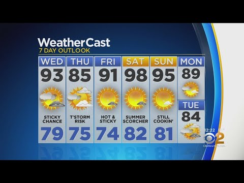 New York Weather: 7/17 Wednesday Afternoon Forecast