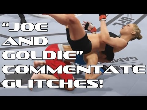 Man Commentates EA Sports UFC Glitches, Hilarity Ensues.