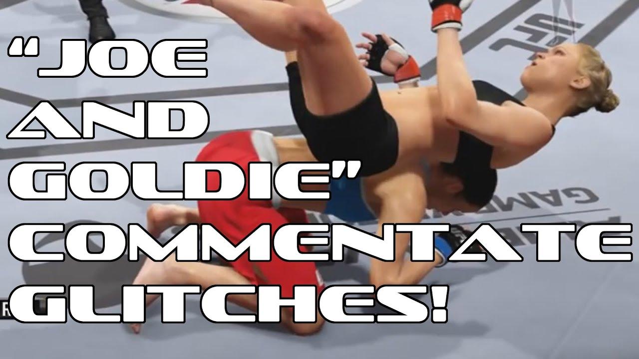 Man Commentates EA Sports UFC Glitches, Hilarity Ensues.