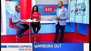Embu Governor Martin Wambora is once again in trouble after court nullified his election over ir
