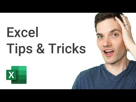 Top 20 Microsoft Excel Tips & Tricks