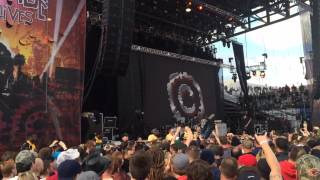 Rock on the Range 2014-Chevelle-Grab Thy Hand