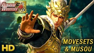 DYNASTY WARRIORS 9 Character Action Trailers Compilation #4 HD 1080p [Musou/Movesets] - 真・三國無双8   Kholo.pk