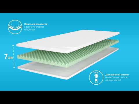 Матрас Wave, 180 x 200 x 7 см