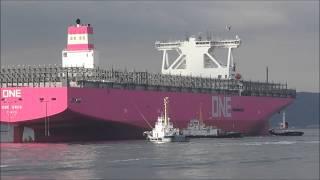 【船.TUBE】動かせば億単位の費用の掛かる巨大船作業!試運転接岸シーンフル!