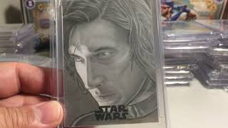 UPDATED 2020 Sandyfranks Top 50 Favorite Topps Star Wars Sketch Cards Collection