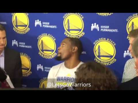 KEVIN DURANT, Golden State Warriors (0-0) practice, 7 days before 2017 NBA Finals [stabilized]