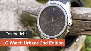 LG Watch Urbane 2nd Edition im Test/Review [Deutsch] - LTE Smartwatch