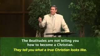 Blessed! A Sermon on the Beatitudes from Matthew 5:1-12 by Pastor Colin Smith
