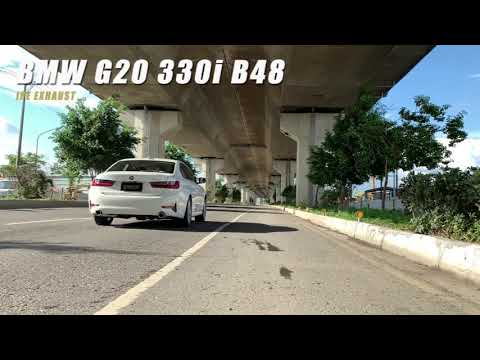 The iPE exhaust for BMW G20 330i
