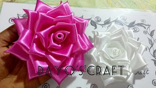 Fabric Roses - 7🌹🌹 Full Bloom../Flower Head Band