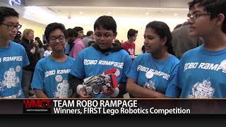 Assabet Valley Tech Hosts FIRST Robotics Lego Competition