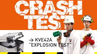 K-LAB CRASH-TEST → is where we put our products under ultimates tests. Fire, big drop, drills, hammers.. you name it, we have it.  Lets' see how hard this KAPPA products are.