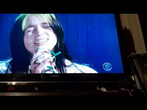 Billie Eilish  - Grammys Performance of When The Party Is Over