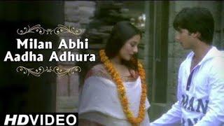 Milan Abhi Adha Adhura hai Lyrics Whatsapp   - YouTube