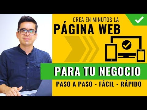 Cómo Crear Una Página Web para Mi Negocio ▶︎ Desde Cero, Paso a Paso, Profesional y Seguro 👌