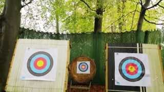 preview picture of video 'Archery at Ribby Hall Village, Lancashire'