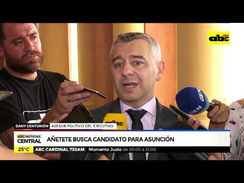 Añetete busca candidato para Asunción