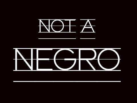 Not a Negro
