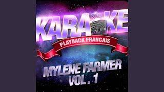 Je T'aime Mélancolie — Karaoké Playback Avec Choeurs — Rendu Célèbre Par Mylène Farmer