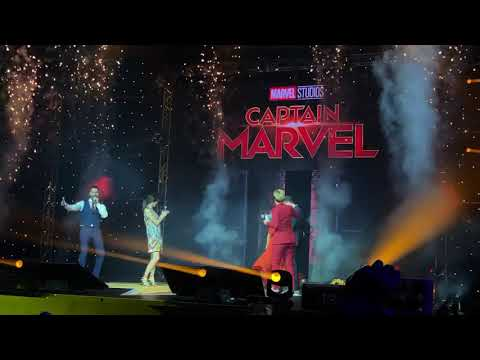 Captain Marvel Cast in Singapore