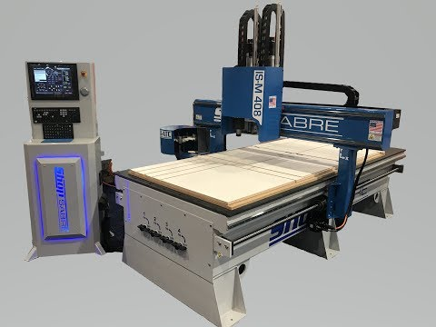 ShopSabre CNC – IS-M Series Walk Around with Routerbobvideo thumb