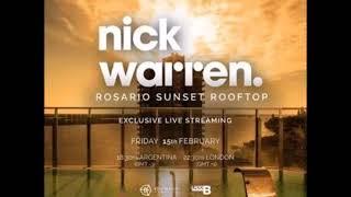Nick Warren - DJ Live Set @ Sunset Rooftop Rosario, Argentina - 15-02-2019