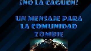 ¿Por Qué A Poker? Mensaje A La Comunidad Zombie.