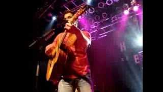 "Easton Corbin: ""Hearts Drawn In The Sand"" @ House of Blues San Diego, California on October 11, 2013"